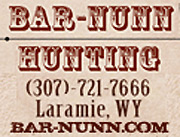 Bar Nunn Hunting Wyoming