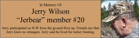 In Memory of Jerbear H-W Member #20