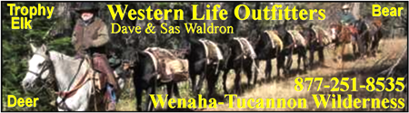A Hunting Trip of a lifetime in the Wenaha Tucannon Wilderness!